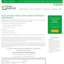 FREE Home Energy Assessment for Long Island Homeowners