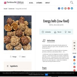 Energy balls (raw food)