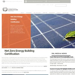 Net Zero Energy Building Certification
