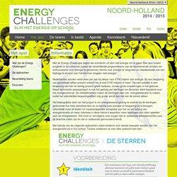 Het spel - Energy Challenges Noord-Holland 2014-2015