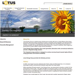Lotus Energy Group : Our Executive Management And Board