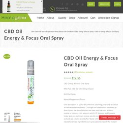 99% Pure CBD Oil with 60mg Infused