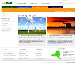 NYISO (Energy Future - Issues & Trends - Greening The Grid)
