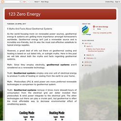123 Zero Energy: 6 Myths And Facts About Geothermal Systems