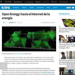Open Energy: hacia el Internet de la energía