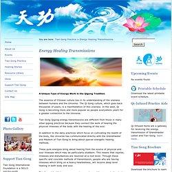 Energy Healing Transmissions