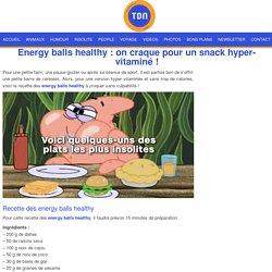 Energy balls healthy : on craque pour un snack hyper-vitaminé