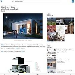 Plus-Energy House with Electromobility / ILEK
