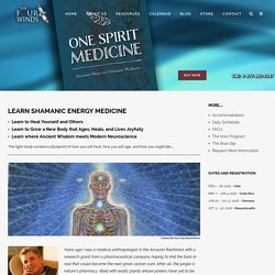 ENERGY MEDICINE TRAINING - Energy Medicine