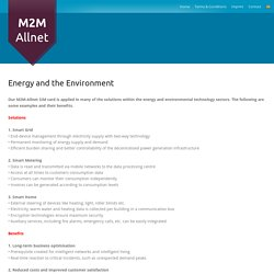 Energy Monitoring Services - Reduce Energy Cost With M2M-Allnet
