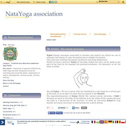 ENERGY BODY - NYÂSA - - [study of the body - [study of the body - [study of the body - [study of the body - [study of the body - NataYoga
