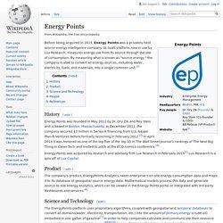 Energy Points