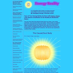 Energy Reality: The Soul/Causal Body