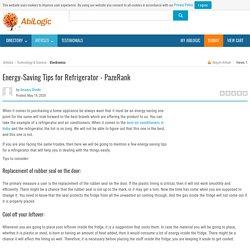 Energy-Saving Tips for Refrigerator