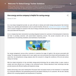 How energy service company is helpful for saving energy