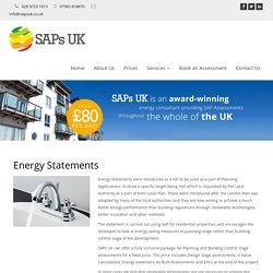 Energy Statements London