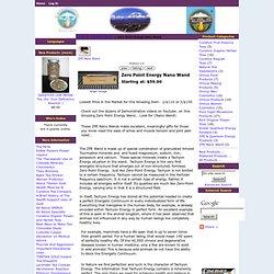 Zero Point Energy Nano Wand - $59.00 : TibetanGold, Online Shop