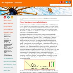 Energy Transformation on a Roller Coaster