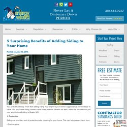 5 Surprising Benefits of Adding Siding to Your Home