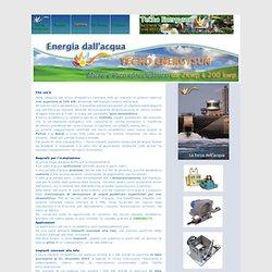Tecno Energysun - Impianti pico e micro idroelettrici da 2kwp a 200 kwp energia dal vento