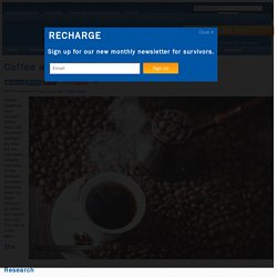 eNews: Coffee and Your Cancer Risk