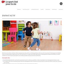 Enfant actif - Sport for Life