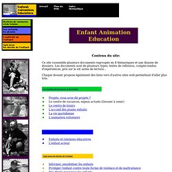Enfant Animation Education