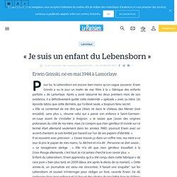 «Je suis un enfant du Lebensborn» - Le Parisien