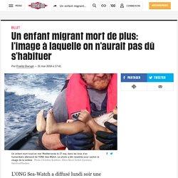 Insupportable : un enfant migrant mort de plus