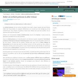 Aider un enfant précoce à aller mieux - Psychologue.net