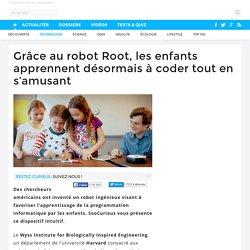 Grâce au robot Root, les enfants apprennent désormais à coder tout en s'amusant