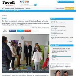 Bernay. Une Unité pour enfants autistes a ouvert à l'école de Bourg-le-Comte « Article « L'Eveil Normand