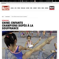 Chine: Enfants champions dopés à la souffrance