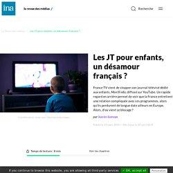 Les JT pour enfants, un désamour français ?