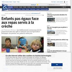 Enfants pas égaux face aux repas servis à la crèche - Vaud