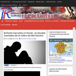 Enfants harcelés à l'école : le double scandale de la video de Bel Kacem