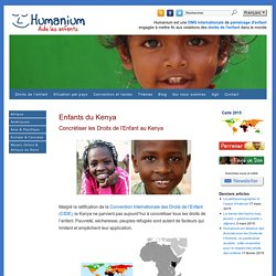 Enfants du Kenya