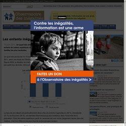 Les enfants inégaux face aux vacances - 2014