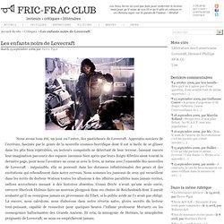 Les enfants noirs de Lovecraft - FRIC-FRAC CLUB