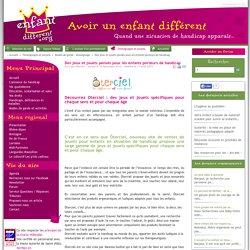 Document 8 : Des jeux et jouets pensés pour les enfants porteurs de handicap