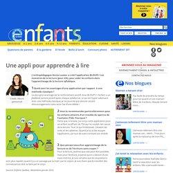 Enfants Québec Une appli pour apprendre à lire - Enfants Québec