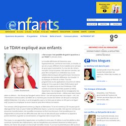 Enfants Québec Le TDAH expliqué aux enfants