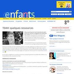 Enfants Québec TDAH: quelques ressources