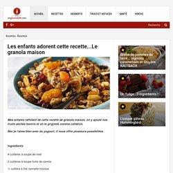 Les enfants adorent cette recette...Le granola maison - Recettes - Ma Fourchette