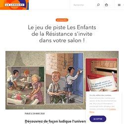 Le jeu de piste Les Enfants de la Résistance s'invite dans votre salon ! — Éditions Le Lombard