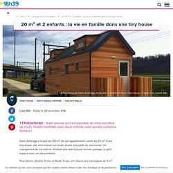 Vivre dans une tiny house avec des enfants, témoignage - Tiny house familiale