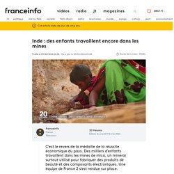 Inde : des enfants travaillent encore dans les mines