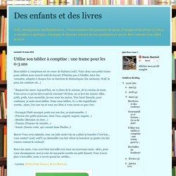 Des enfants et des livres: Utilise son tablier à comptine : une trame pour les 0-3 ans