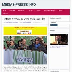 Enfants à vendre ce week-end à Bruxelles – medias-presse.info