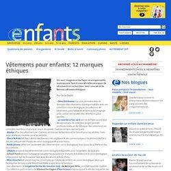 Enfants Québec Vêtements pour enfants: 12 marques éthiques
